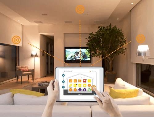 smart home Mundo Positivo